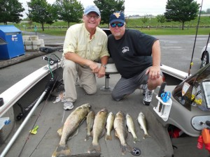 Lake Erie Walleye Fishing Charter Buffalo NY