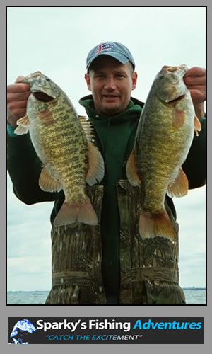 Fishing Lake Erie for world class small mouth Bass